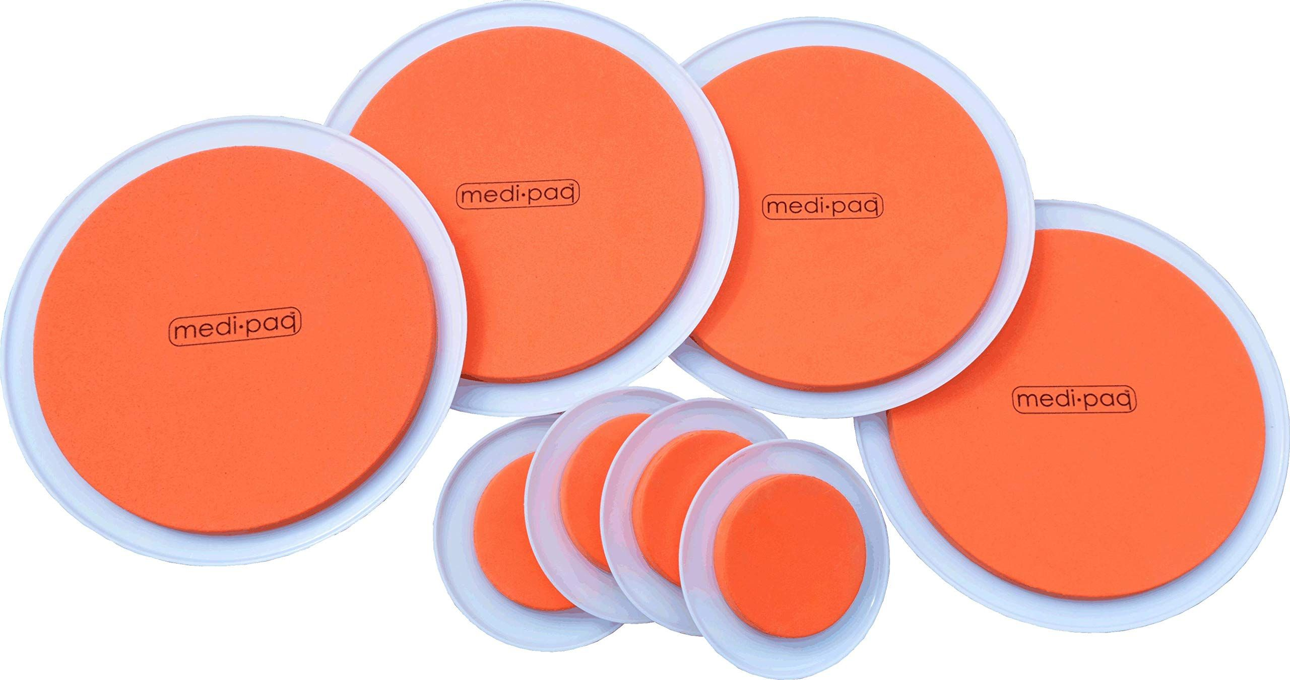 The Super Furniture Sliders Genuine Original Orange Discs By