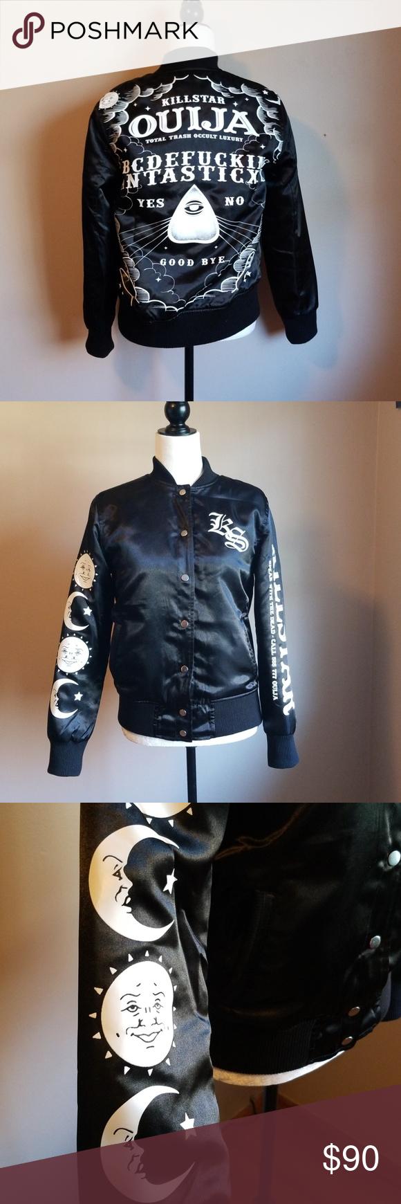 Killstar Bomber Jacket Ouija Board Clothes Design Fashion Fashion Design [ 1740 x 580 Pixel ]