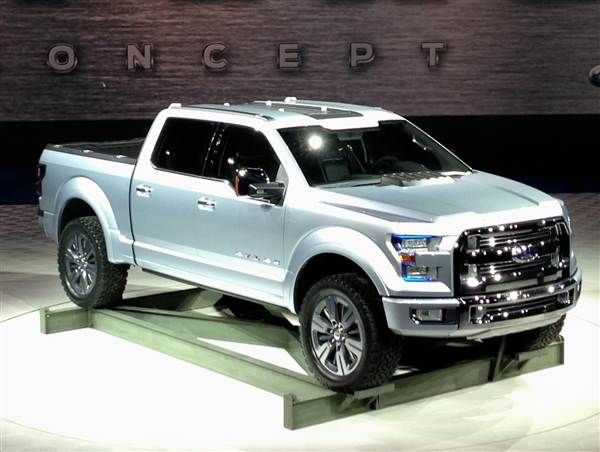 ford atlas concept hints at 2015 f 150 2013 detroit auto show auto shows ford trucks ford. Black Bedroom Furniture Sets. Home Design Ideas