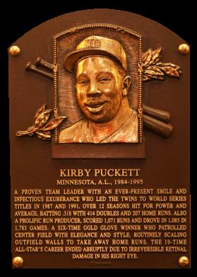 Photo of Kirby Puckett