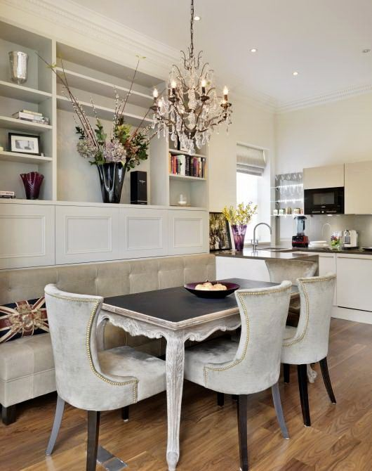 in 2019  Kitchens  Dining room banquette