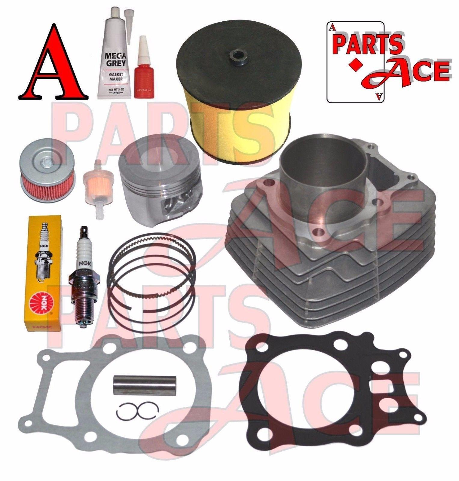 Piston Rings Gasket Kit Top End Kit For Honda Rancher 350 TRX350 ATV 2000-2006