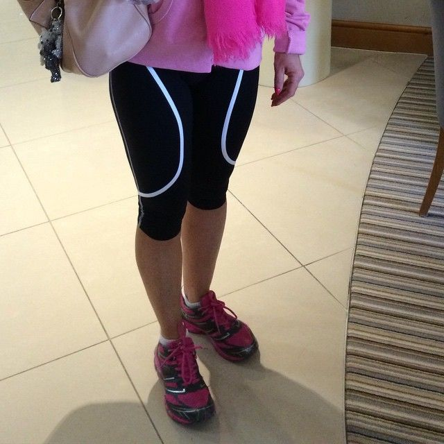 Eszter capris have been super popular this week at cottons hotel cheshire! #Manchester #chesire #ZAAZEE #sport #fit #fitfam #girlswholift #quads