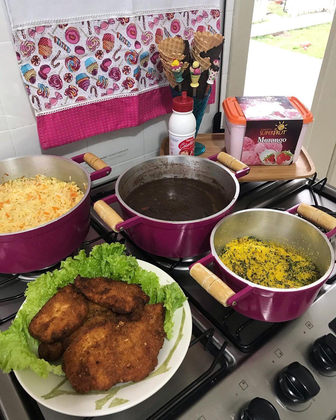 Almoço De Domingo Bem Caseirinho Hoje Com Direito A Casquinha De Sorvete De Sobremesa Aqu Receita Para Almoço Simples Comidas Para Almoço Receitas