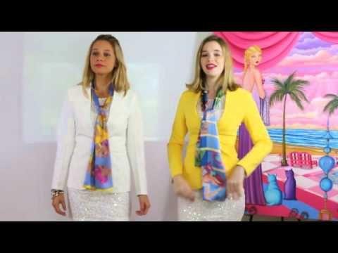 Sharon Tatem Silk Scarf Tutorial 14 Ways To Wear A Sharon Tatem Silk Scarf Silk Scarf Tutorial Scarf Tutorial Silk Scarf