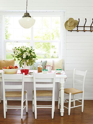 Diy dream home small space decorating ideas on a dime for Small country dining room ideas