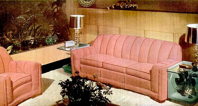 Living Room 1947 Furniture Vintage Sofa Furniture Design
