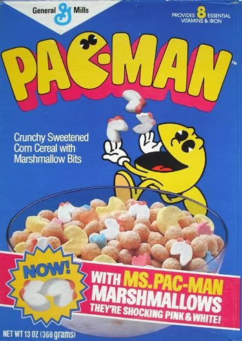 cereal de Pac-Man