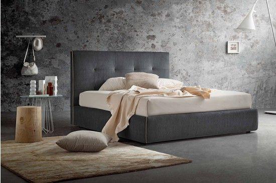 Letti Di Design Vendita On Line : Vendita mobili online letto imbottito ecopelle tessuto offerte