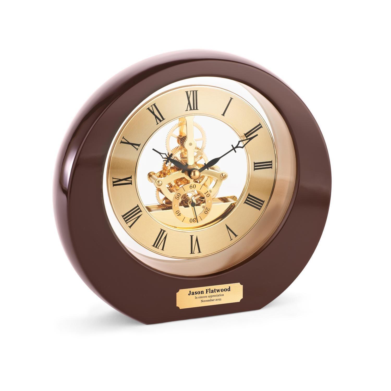 Boss S Day Gift Personalized Gear Desk Clock