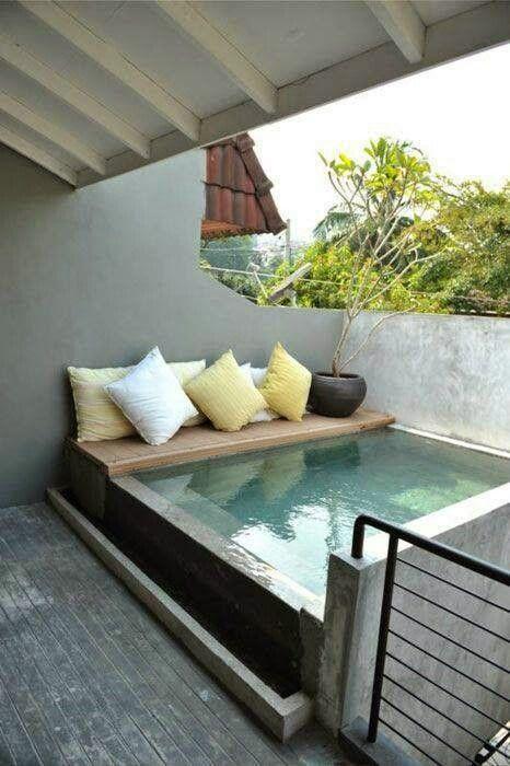 Des petites piscines qui donnent envie\u2026 \u2013 The Foxtrotter Home - Comment Faire Une Piscine En Beton