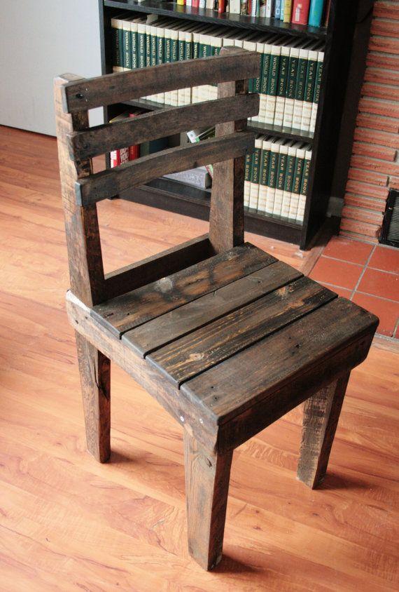 Pallet Wood Chair | Furniture Ideas | Pinterest | Pallet wood ...