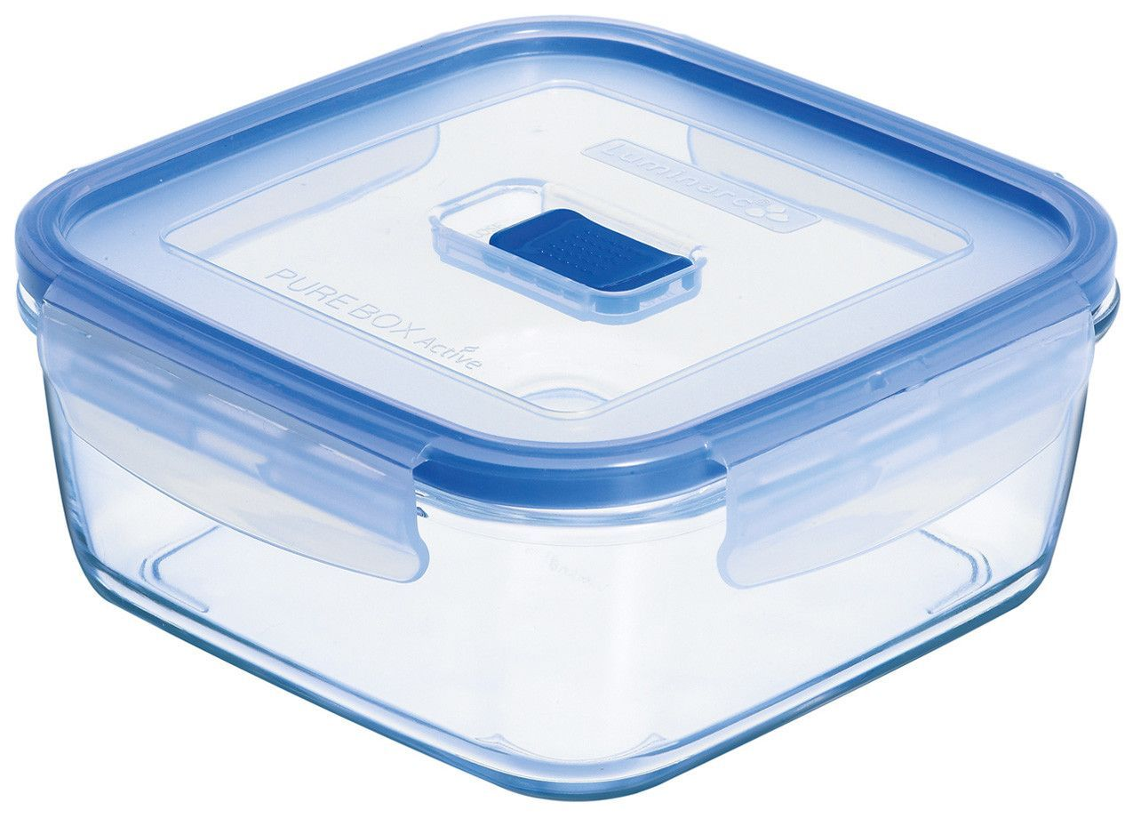 Pure Box Active 3.2-Cup Square Storage Box with Lid   Products ...