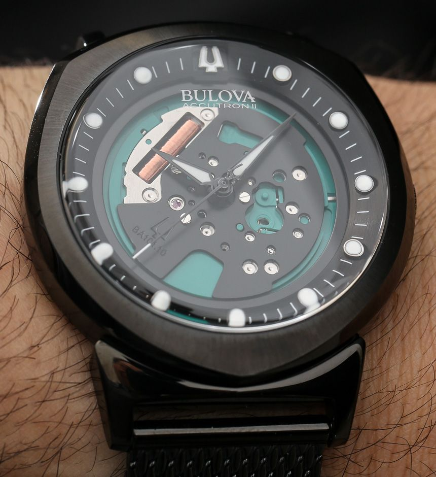faafa7646 Bulova Accutron II Alpha Watch Hands-On: The New and Affordable Spaceview  With A
