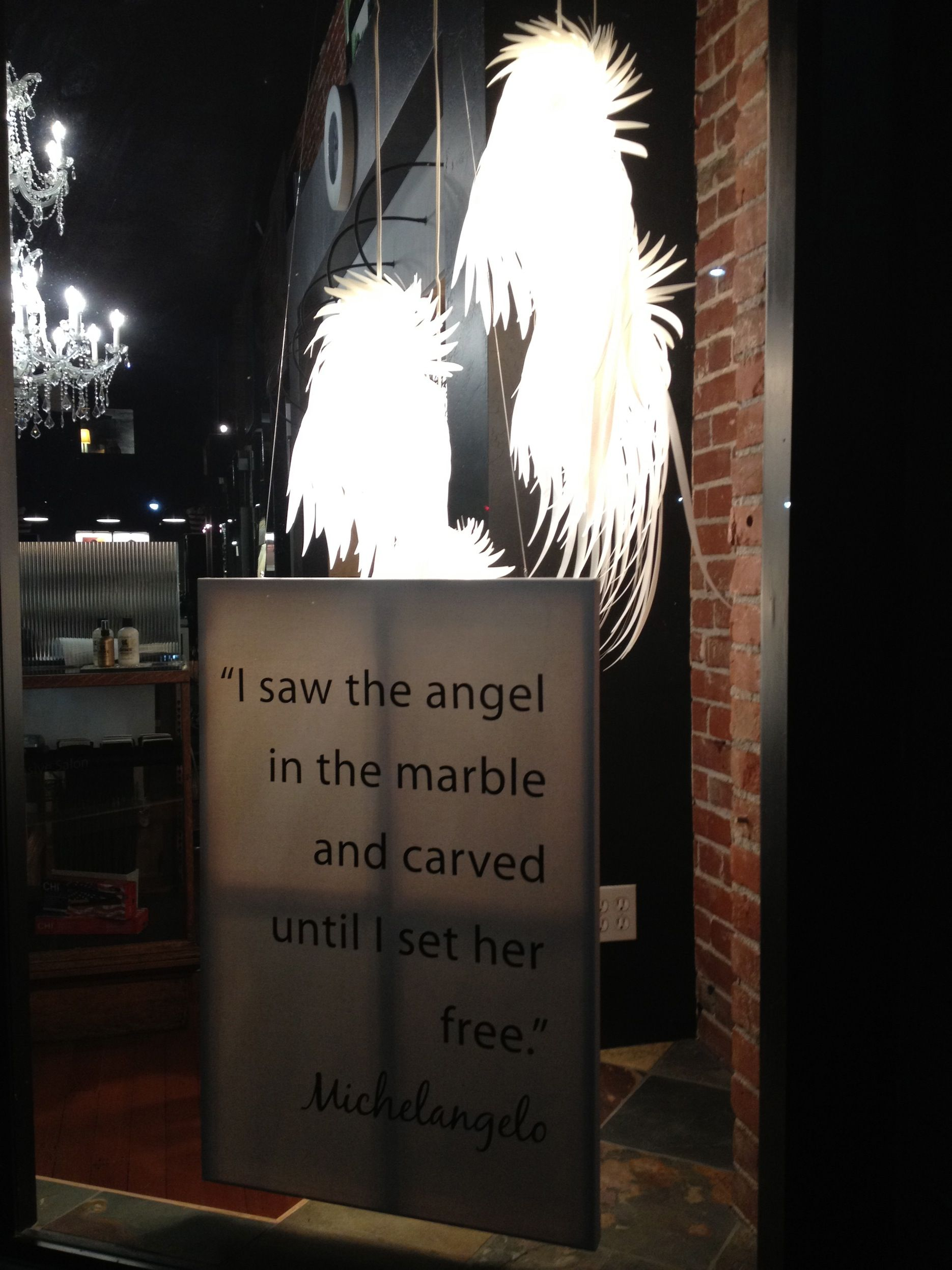 Found this quote in downtown Walla Walla...