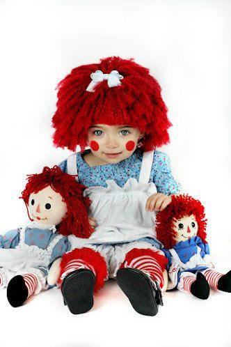 Raggedy Ann Hat (Sizes Newborn-3 Years) Inspired wig- Raggedy Ann hat- LDM team- Raggedy ann beanie- Raggedy Ann wig on Etsy, $30.00