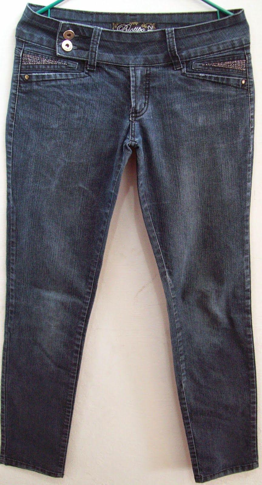 Calça jeans Biotipo tamanho 42