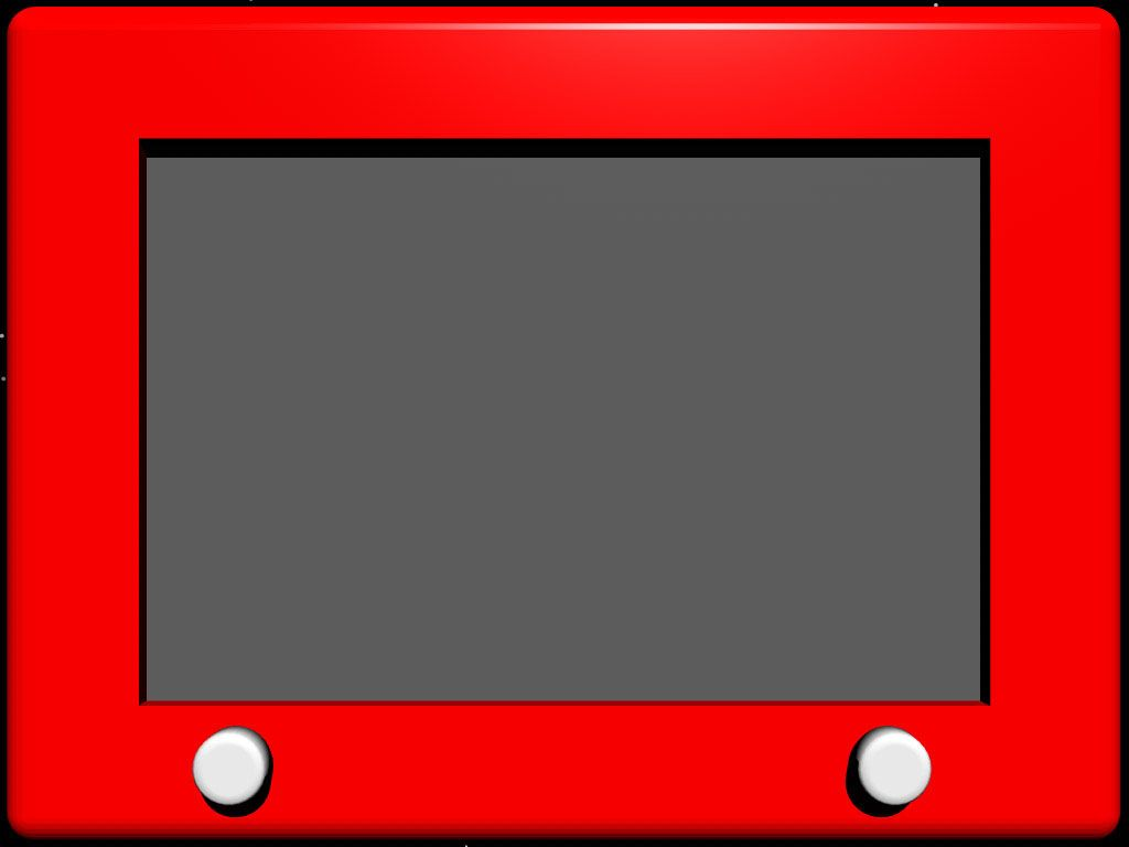 Etch-a-sketch PPT template - fun fun | Pampermint Dreams | Pinterest ...