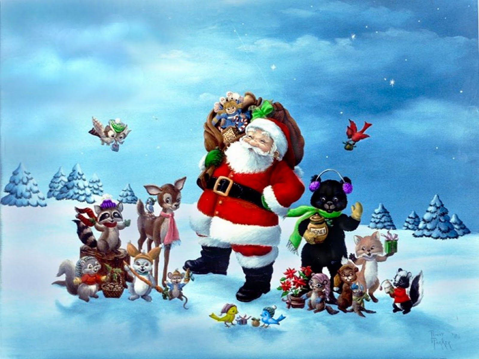 funny christmas wallpaper backgrounds - Funny Christmas Wallpaper