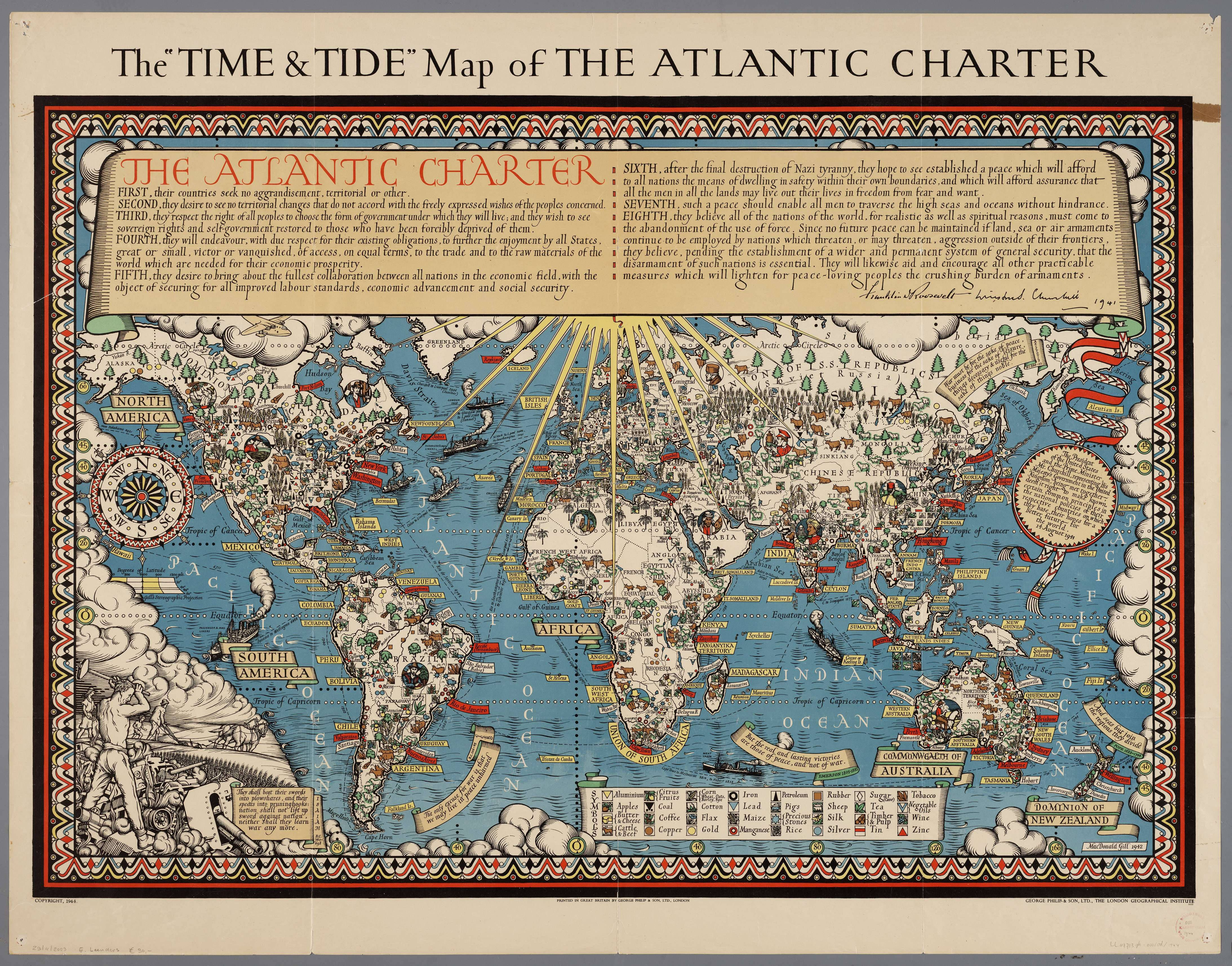 The time and tide map of the atlantic charter cartography the time and tide map of the atlantic charter cartography london nvjuhfo Image collections