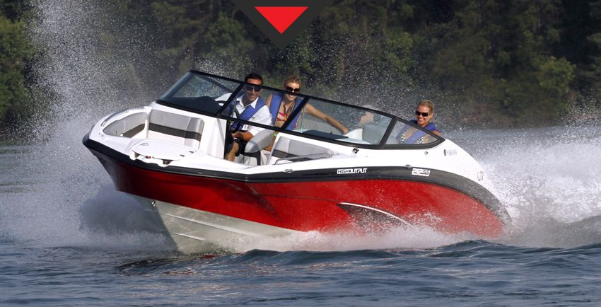 Yamaha jet boat or something similar would be nice to for Nice fishing boats