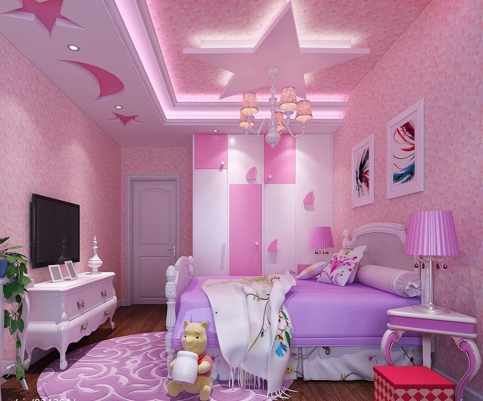 Pin by lexa on luxury modern villa   Bedroom false ceiling ...