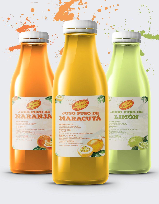 Diseno De Etiqueta Para Jugos Juice Label Design Design Label Branding Juice Fruit Jugos Diseno Etiquetas Disenos De Unas