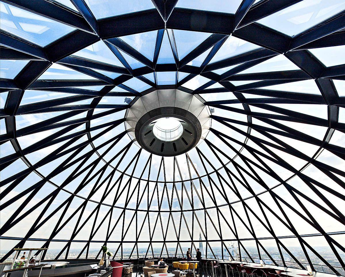Searcys (The Gherkin, London)  #Circular #Architecture