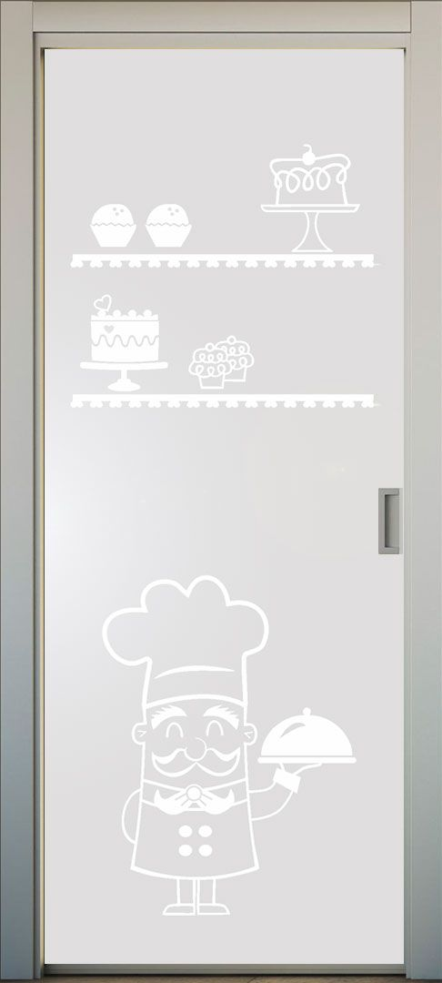 Vinilo translucido para puertas de cocina lovevinilos - Vinilos cristales cocina ...