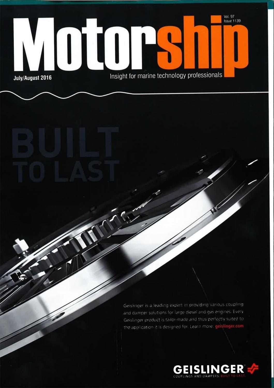 Motorship (Jul-Aug. 2016)