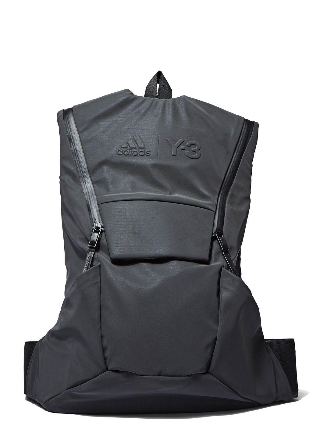 6087139a797b Y-3 SPORT Unisex Running Backpack In Grey.  y-3sport  bags  polyester   backpacks