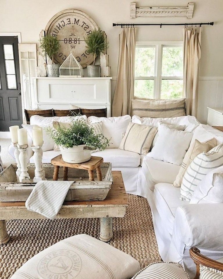 75 Magnificence Habby Chic Farmhouse Living Room Design Ideas French Country Decorating Living Room Farm House Living Room Farmhouse Decor Living Room
