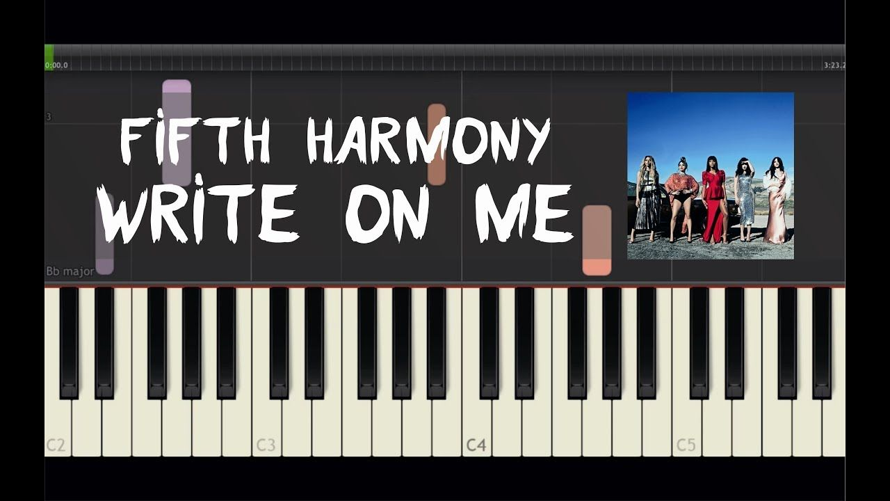 how to write a pop song on piano