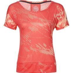 Photo of Asics Damen Laufshirt Crop Top Kurzarm, Größe L In Shadow Coralicious, Größe L In Shadow Coralicious