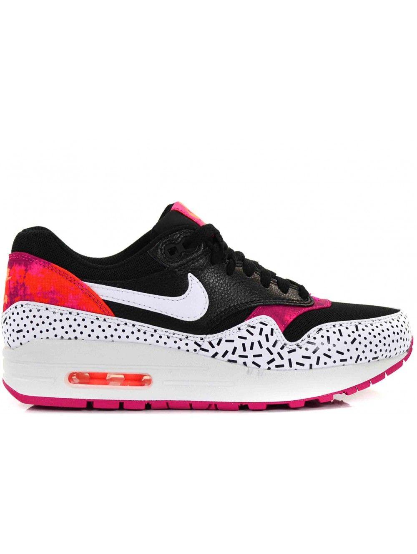 nike air max zwart roze wit