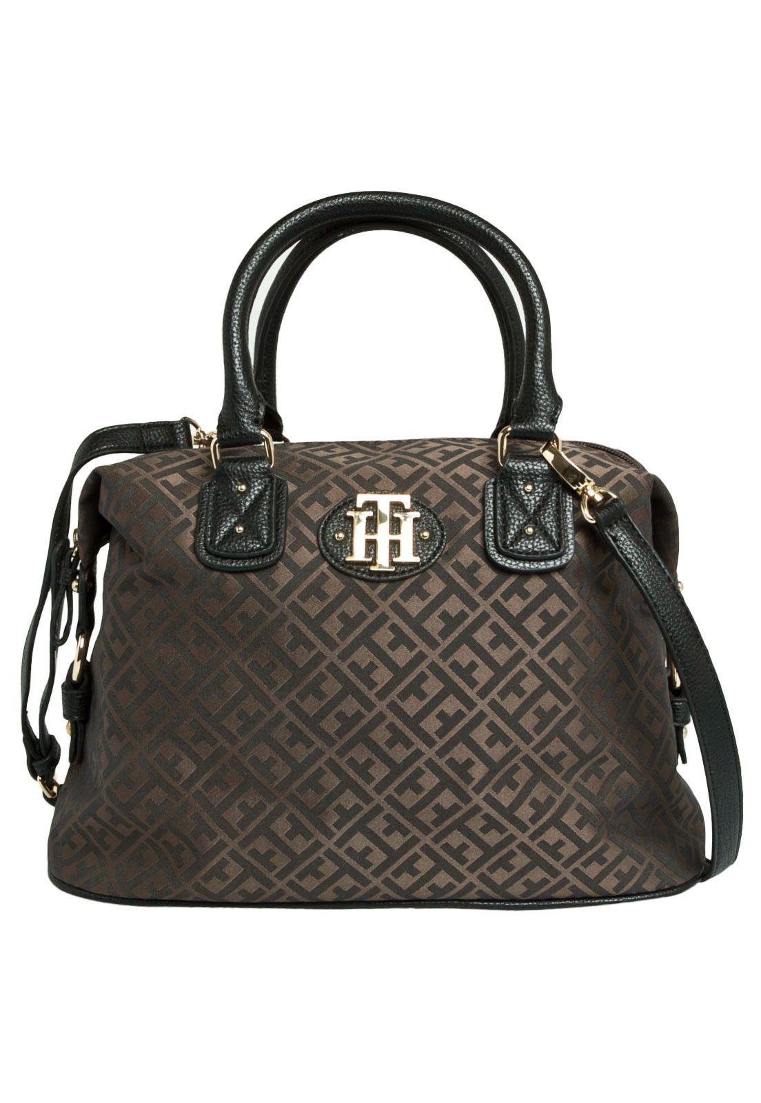 Bolsa Tommy Hilfiger Quadrada Marrom - Compre Agora   Dafiti Brasil 2c36e7abc5
