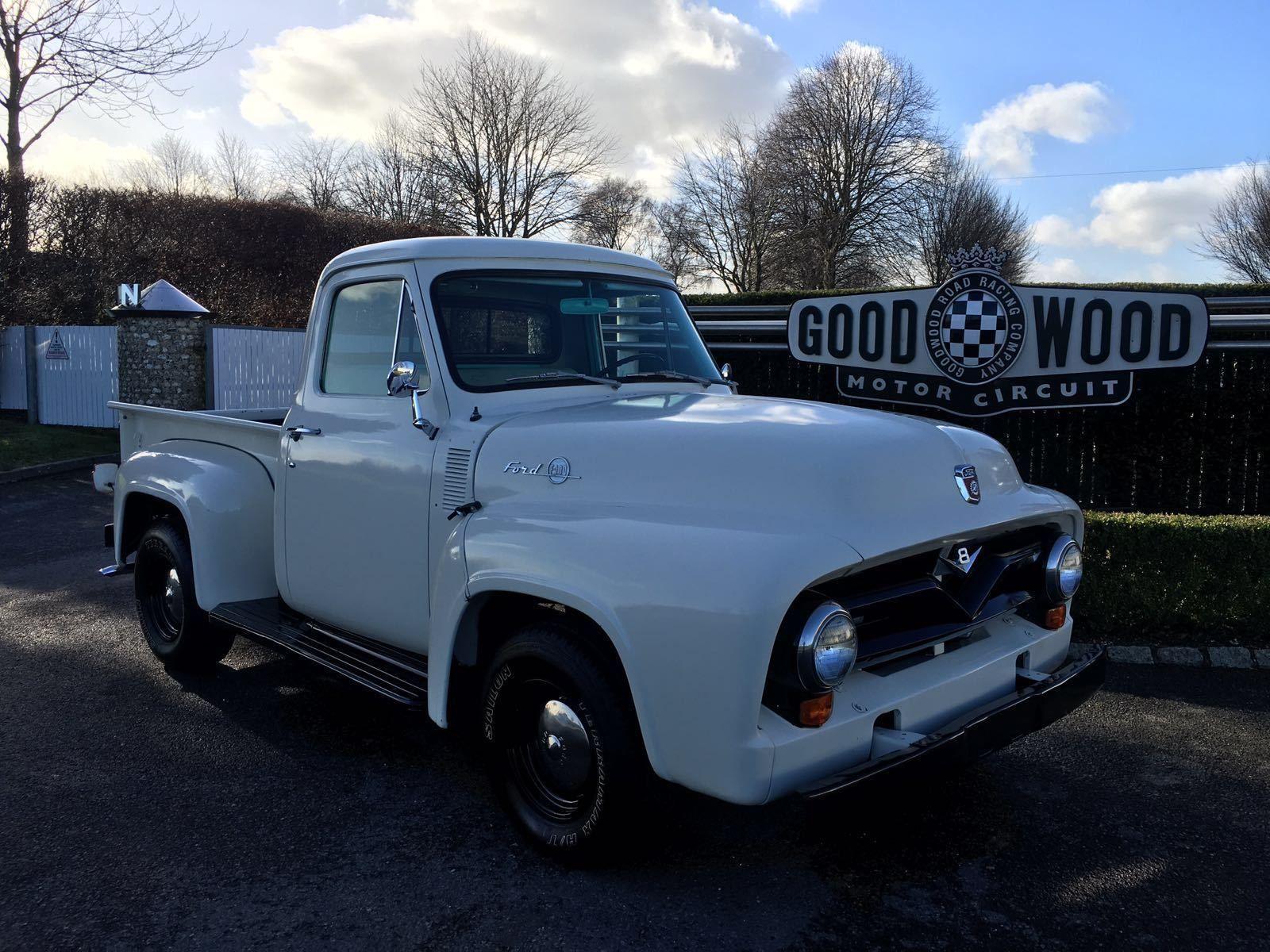 1955 Ford F100 Pick Up Show Truck Hot Rod V8 Trucks And Wagons Rat Ebay 1956