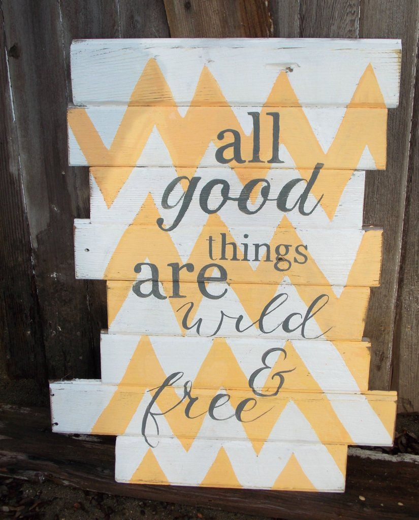 All Good Things Are Wild and Free\