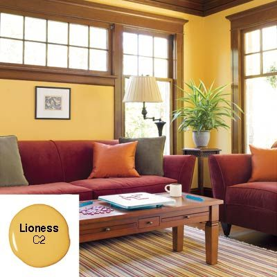 Gold Living Room Color