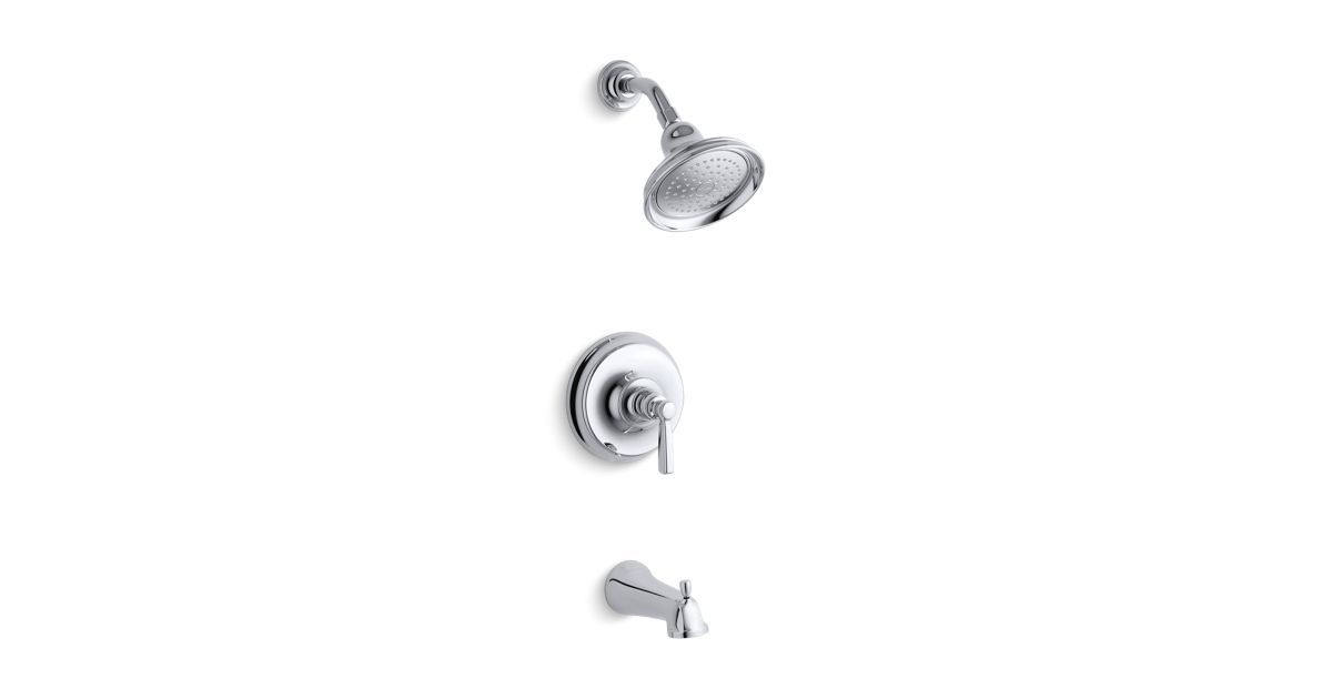 The K T10581 4 Trim Brings Traditional Styling To Baths And