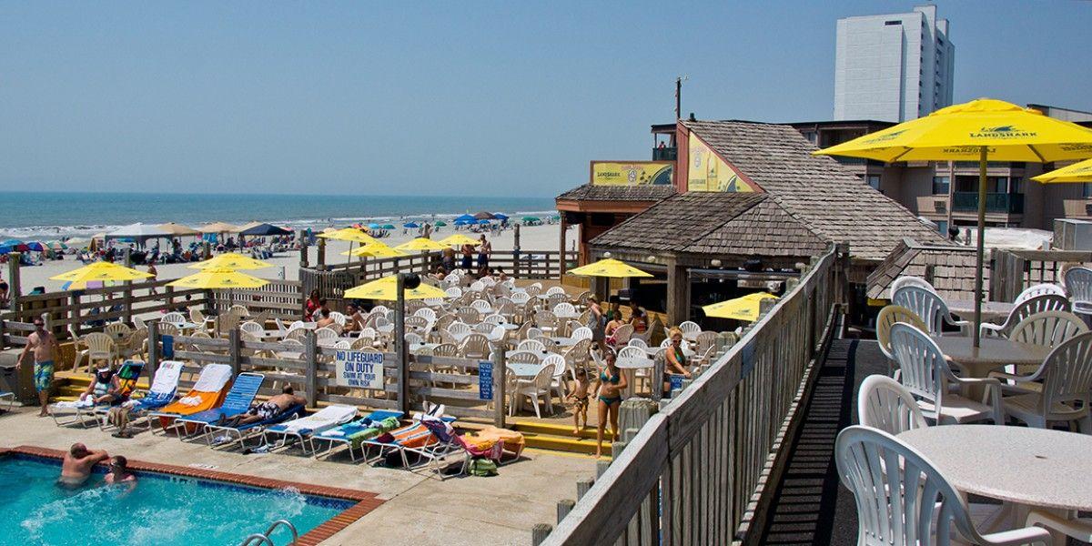 Sands Ocean Club Resort In Myrtle Beach S C Is Home To The Famous Ocean Annie S Beach Bar