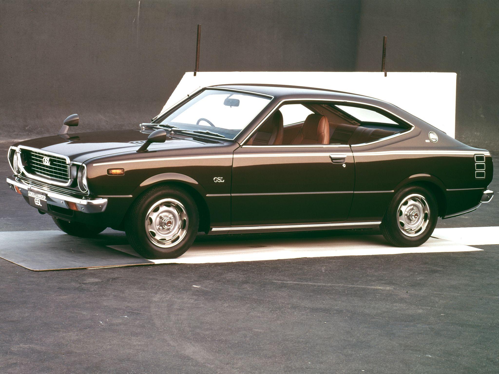 1974–79 Toyota Corolla Hardtop Coupe (E37) | The Best ...
