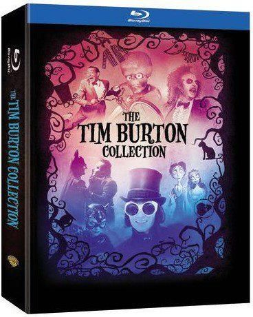 The Tim Burton Collection 7 Disc Blu Ray Set On Sale Low As