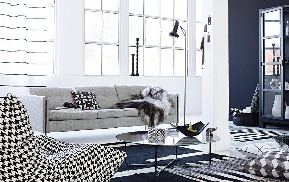 Neue Stoffe Für Die Wohnung Kontraste Vor Textilien In Schwarz   Wohnzimmer  Schwarz Rosa