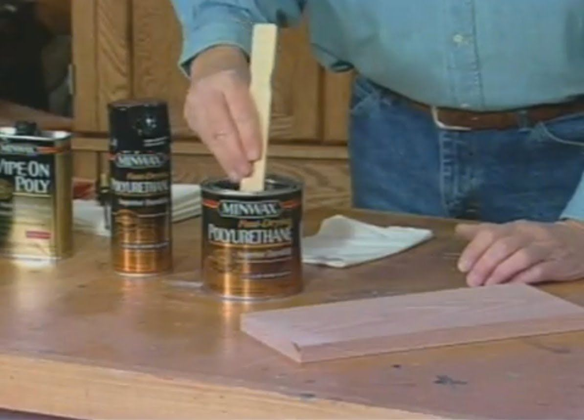 Various types of clear coat finishes for wood, how to apply