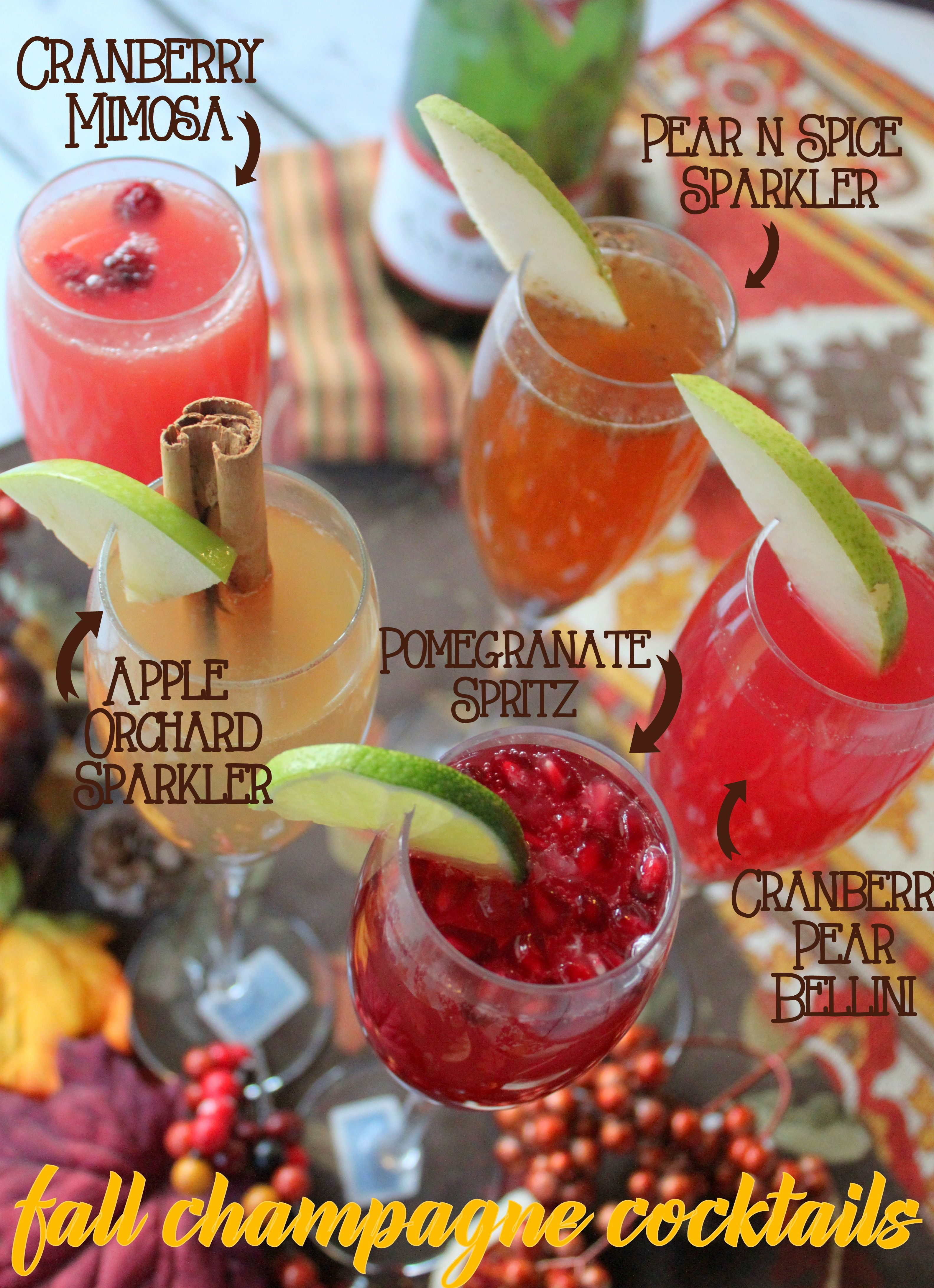 Fall Champagne Cocktails with Andre Champagne #EpicWithAndre - Ya ...