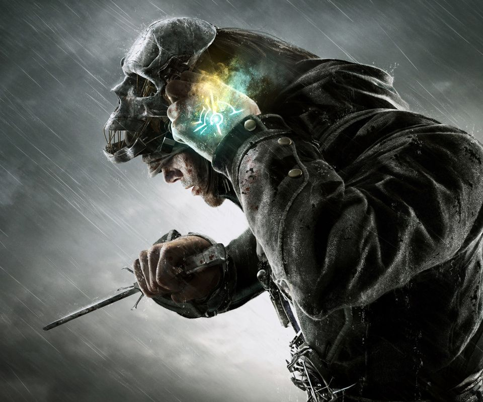 Pin by Țuțu Ionuț on Art & Wallpapers   Dishonored mask ...