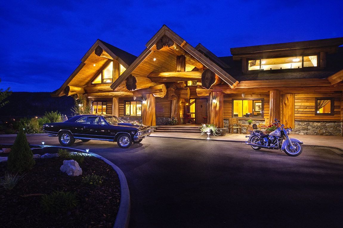prosperity ridge home pioneer log homes of bc loghome customloghome luxuryloghome log. Black Bedroom Furniture Sets. Home Design Ideas