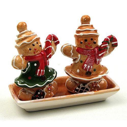 Gingerbread Salt and Pepper Set
