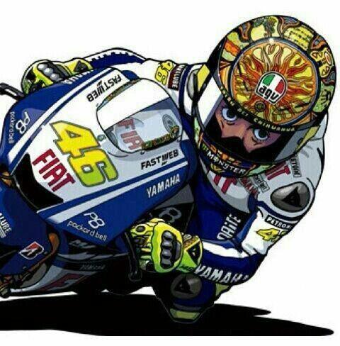 Valentino Rossi MotoGP Motorsports Pinterest – Valentino Rossi Birthday Card